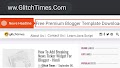 How To Add Breaking News Ticker Widget For Blogger - Hindi