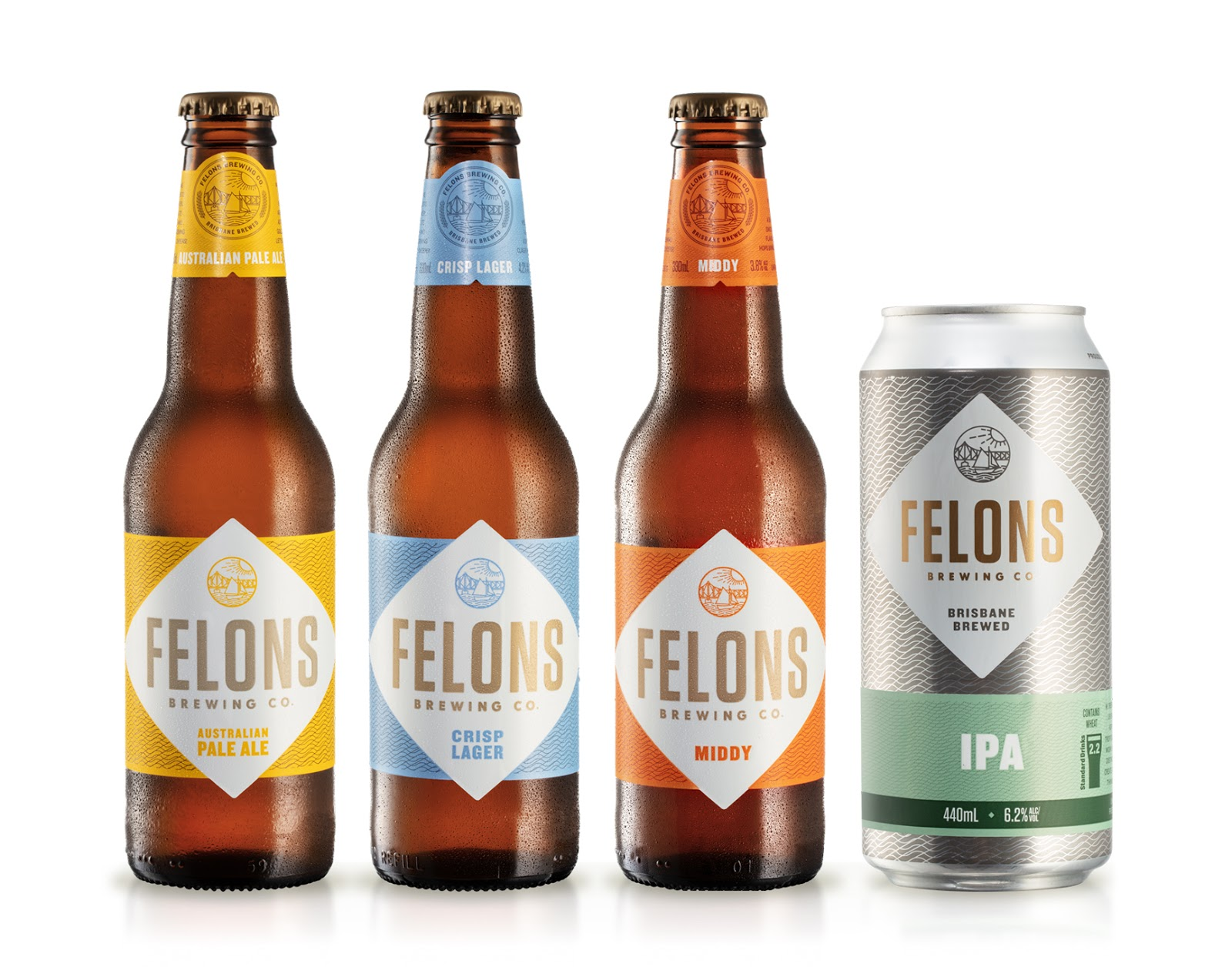 Felons Brewing Co on Packaging of the World - Creative