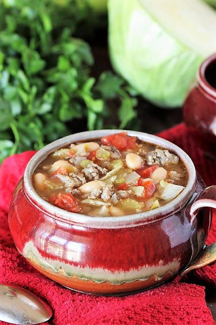 Recipes to Make with Sausage - White Bean & Sausage Soup Image