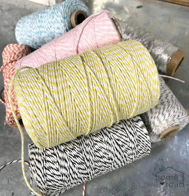 DIY Baker's Twine Spool Holder