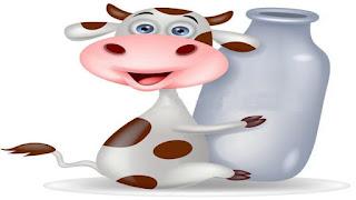 La buca piena di latte