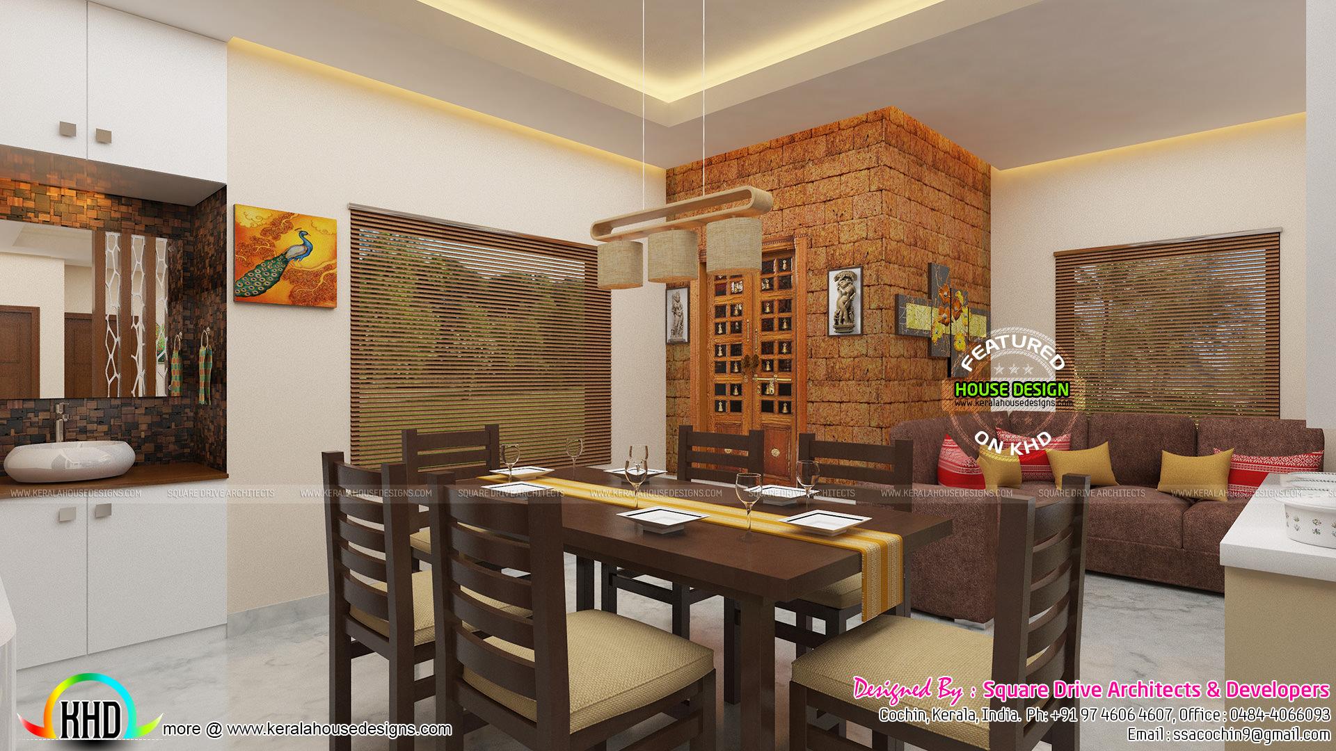 Awesome interior of dining area - Home Design Decor