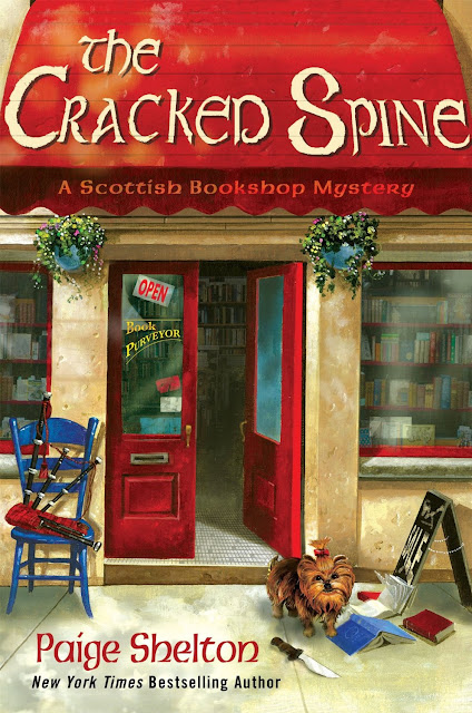 Book Review #3: The Cracked Spine, by Paige Shelton - Coffee, Books, and Music