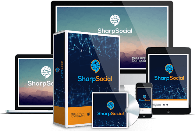 SharpSocial Platinum [Social Marketing App With IBM Technology]