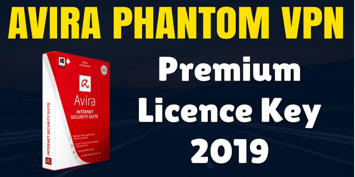 Avira Phantom Pro VPN Premium License Key 2018   December