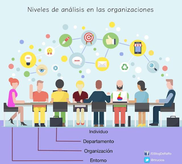 TEORIA DE LA ORGANIZACIÓN Y NIVELES DE ANÁLISIS
