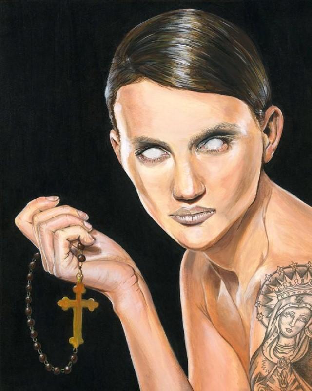 Притягательные и тревожные рисунки Мелиссы Хартли (Melissa Hartley) 3
