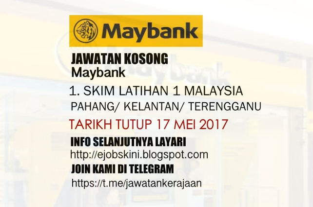 Skim Latihan 1Malaysia Maybank