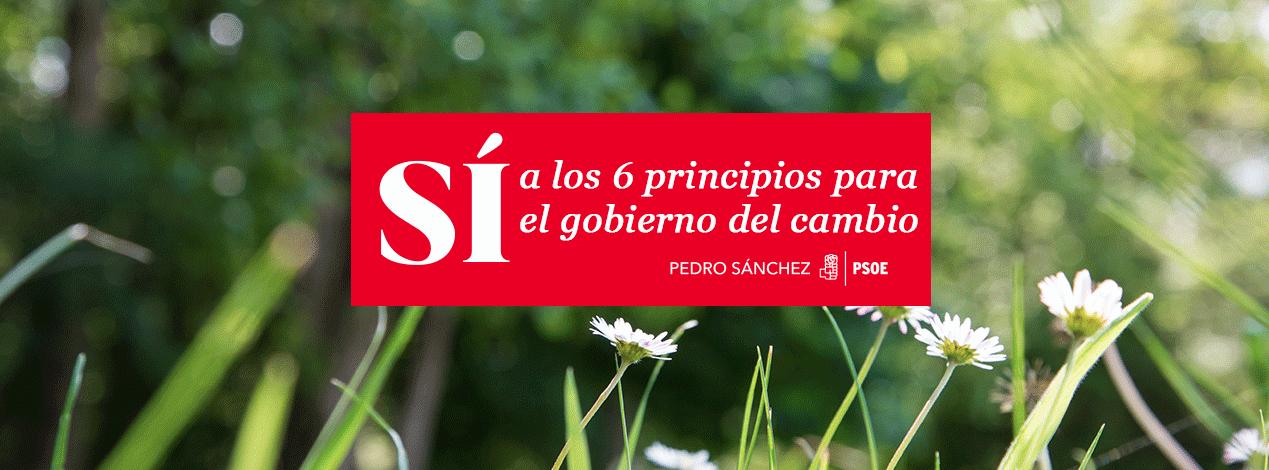 Los 6 principios del gobierno del cambio