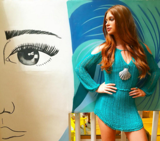 Todos os Looks de Crochê de Marina Ruy Barbosa