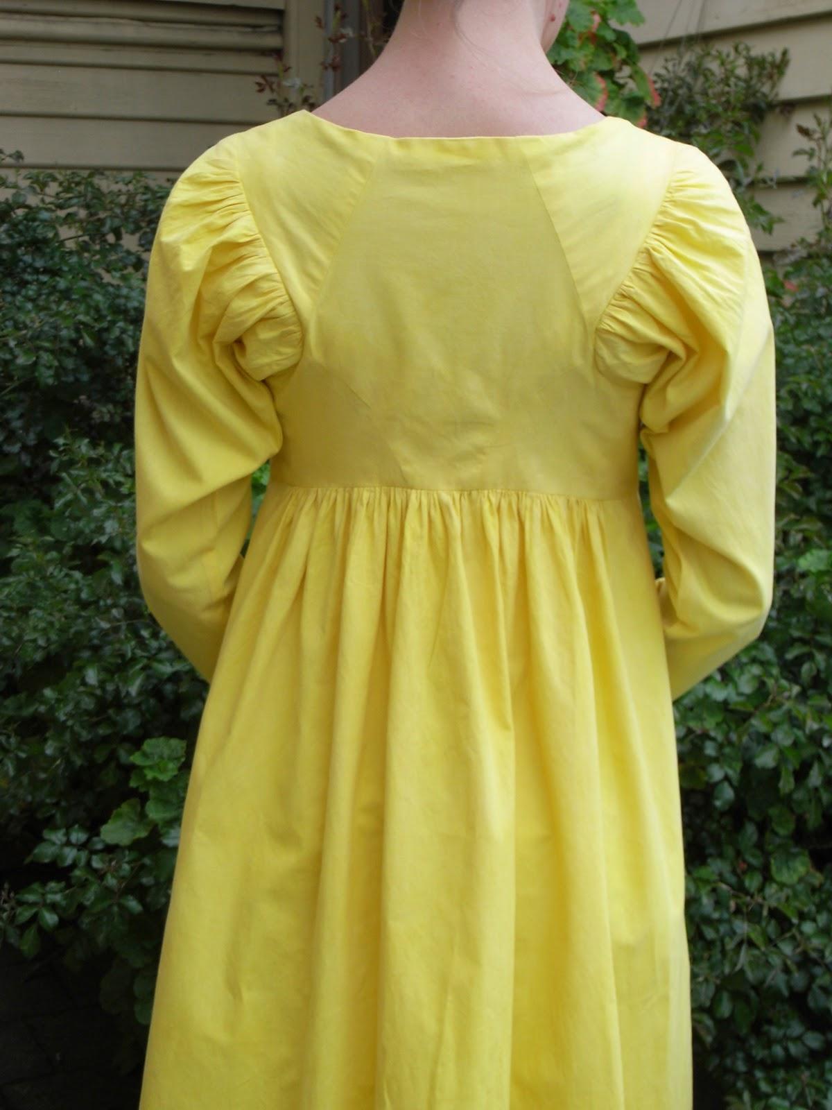Jane Austen Regency Napoleonic Costume Construction