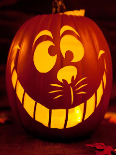 disney cat halloween pumpkins fruit carving arts