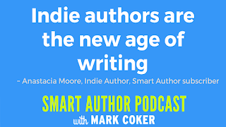 "image reads:  ""Indie authors are the new age of writing"""