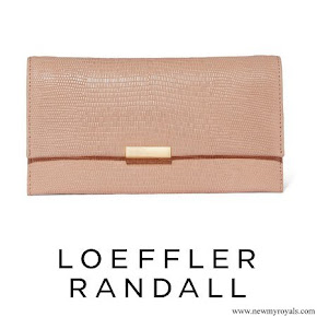 The Duchess carried her Loeffler Randall clutch