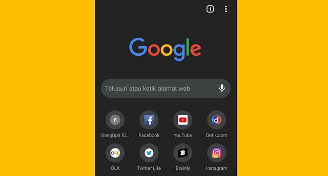Cara Mengaktifkan Dark Mode di Google Chrome Android 100% Work