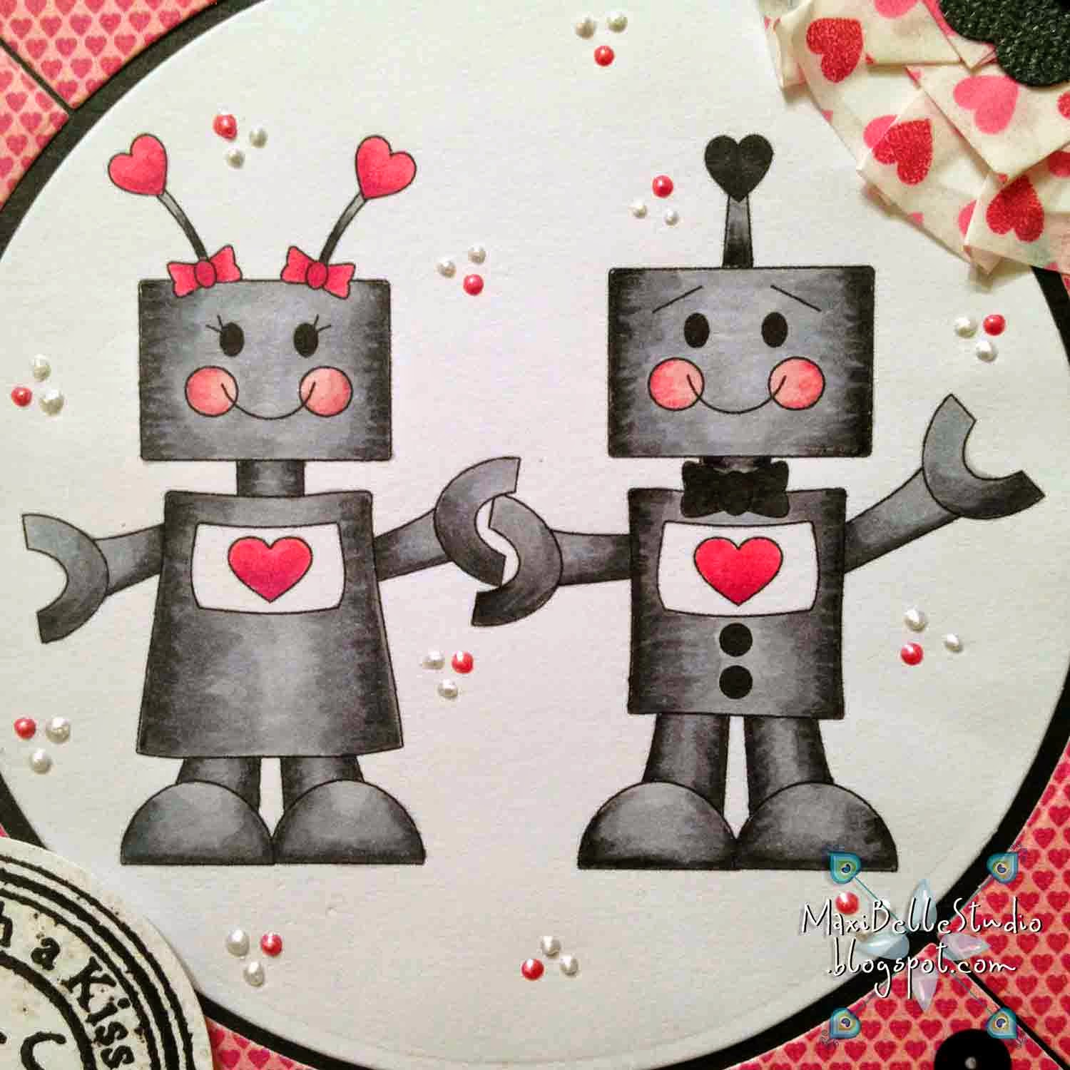Kadoodle Bug Designs Love Bots