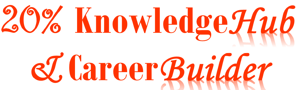 20% KnowledgeHub & CareerBuilder