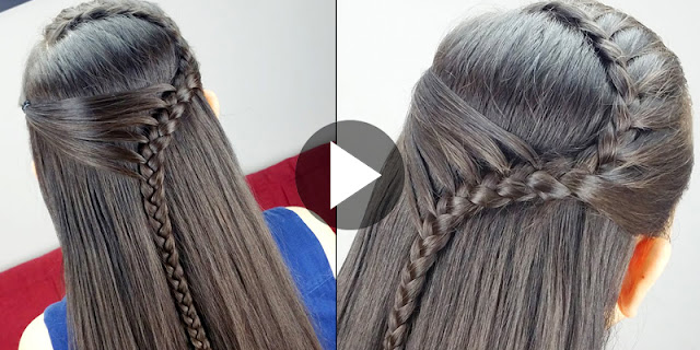 Learn, How To Create Pull Back Headband Hairstyle