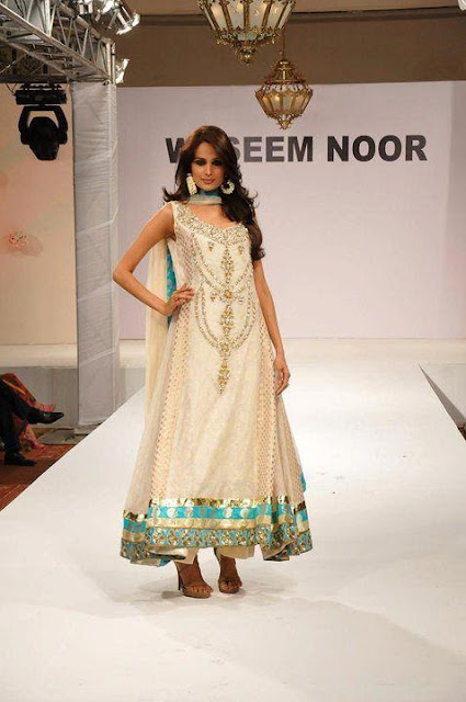Best Waseem Noor Half-formal Girls Dresses Collection 2013