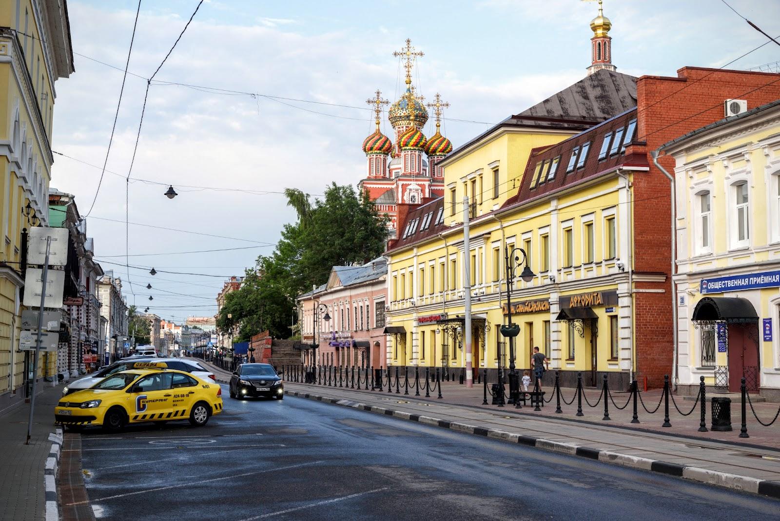Рождественская улица. Фото