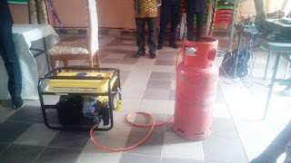 Fueless Generator Gas