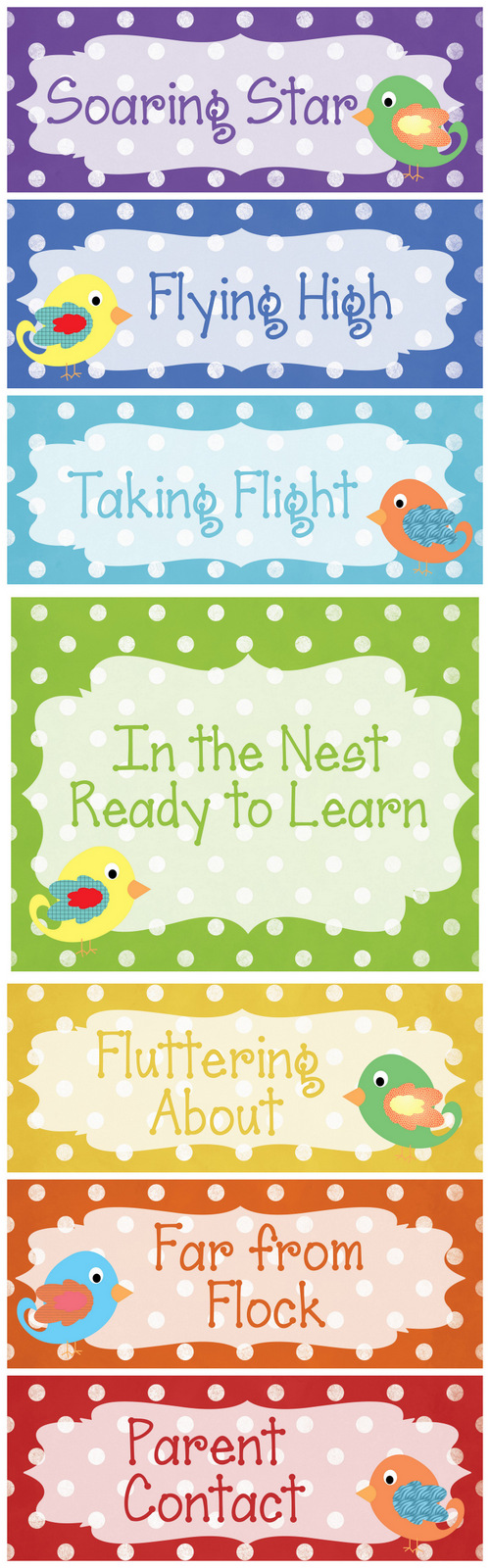 In the nest ready to learn classroom behavior chart also christy   customs and little house by olive tree rh christyscustomsspot