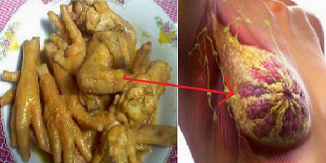 Mulai Saat Ini Berhentilah Mengkonsumsi Ceker dan Sayap Ayam Karena Bisa Memicu Penyakit Ini