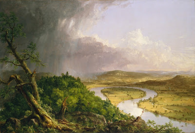 Thomas Cole - the oxbow, ( Connecticut River),1836.