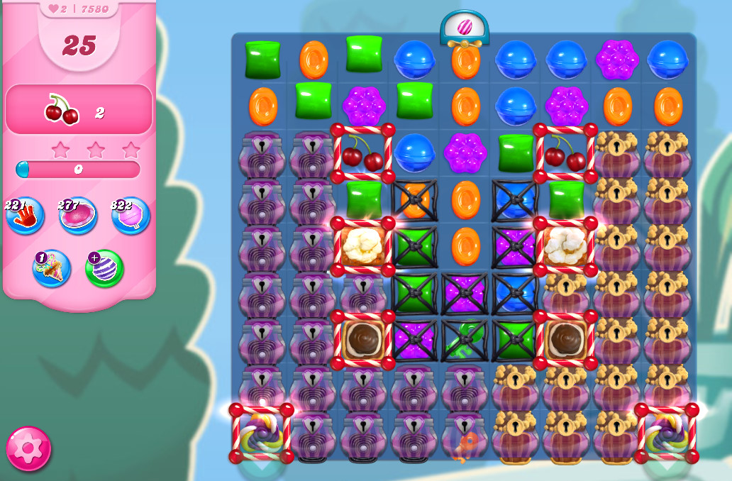 Candy Crush Saga level 7580