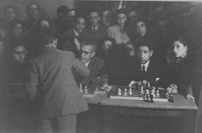 Simultáneas de Arturito Pomar en Lérida el 17 de abril de 1946 (2)