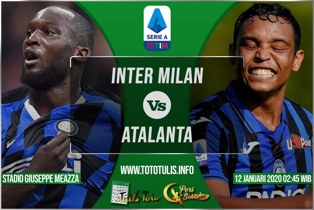 Prediksi Inter Milan vs Atalanta 12 Januari 2020
