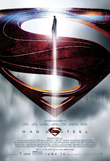 Man of Steel Poster 001 | A Constantly Racing Mind