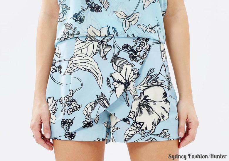 Fate Flowerline Shorts