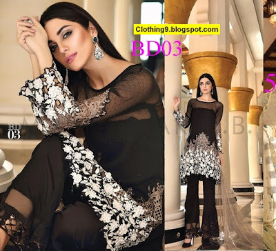 Maria B Mbroidered 2016-17 Eid-Ul-Azha Catalog / Collection