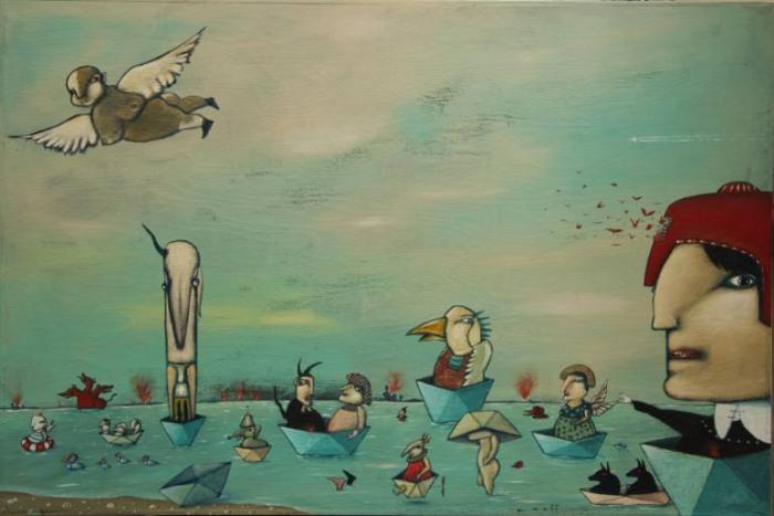 Французский художник. Jean-Christian Knaff