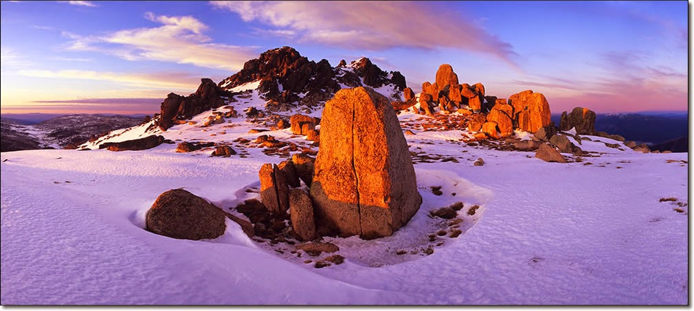 Jeremy Turner - Photography - Snow and Rocks