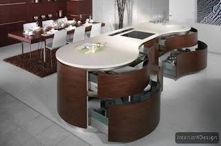 Round Countertop Kitchen 6