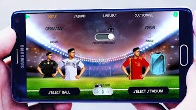 تحميل لعبة fifa 14 mod fifa 18 اخر الاطقم والانتقالات للاندرويد من موقع ميديا فاير
