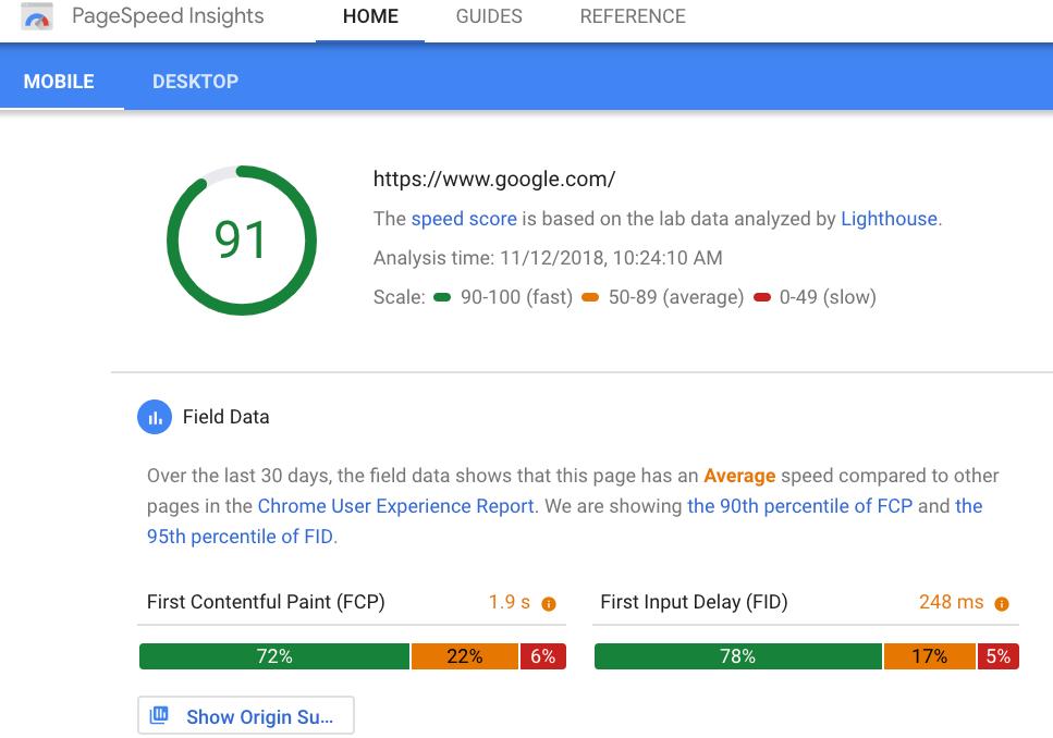 La herramienta Google PageSpeed Insights tiene una nueva actualización importante con más datos de Lighthouse