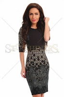 Rochie LaDonna Deeply Attached DarkGreen (LaDonna)