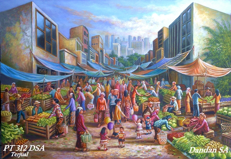 Art Paintings By Dandan Sa Blog Lukisan Bagus Indah Mempesona