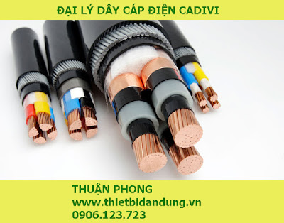Đại lý dây cáp điện Cadivi tại Long An 100% giá gốc