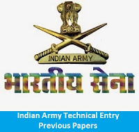 Indian Army Technical Entry Previous Papers