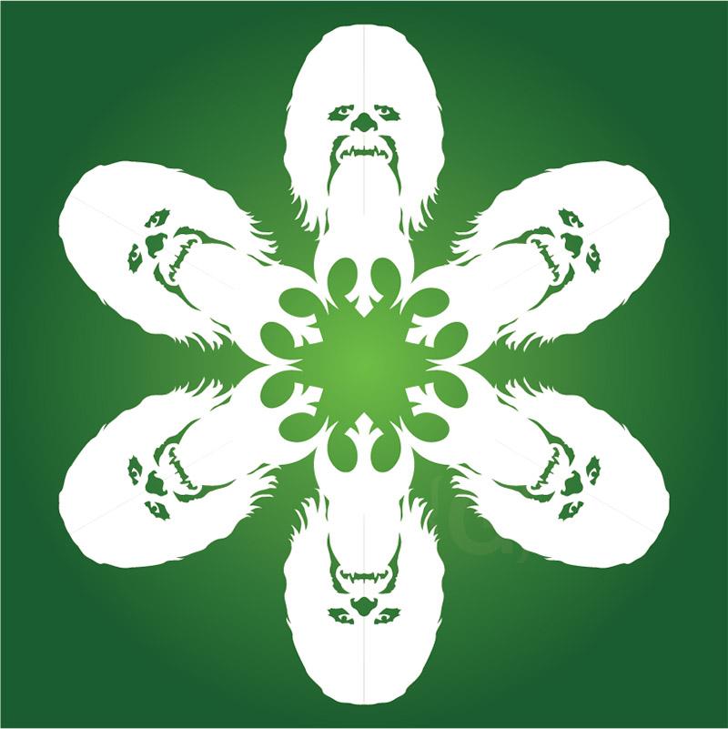 chewbacca snowflake