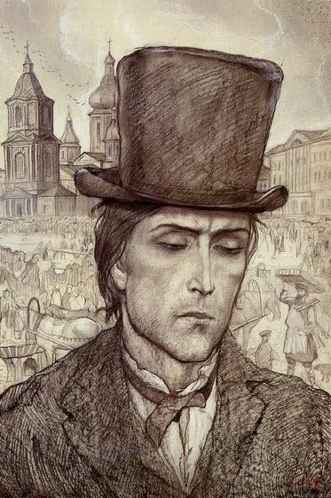 illjustracija_Raskolnikov_shljapa_prestuplenie_i_nakazanie_Glazunov