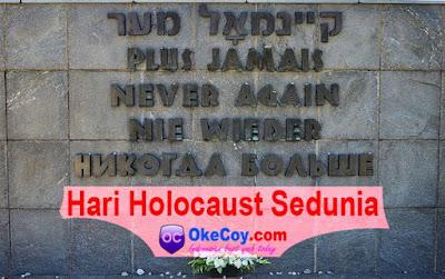 Hari Internasional Peringatan Mengenang Korban Holokaus holocaust sedunia