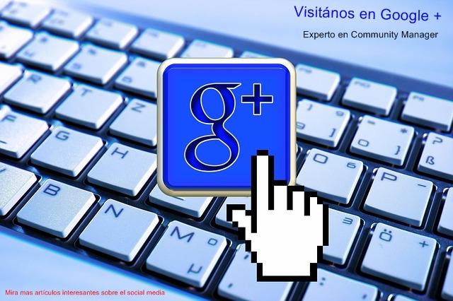 Visítanos en Google +