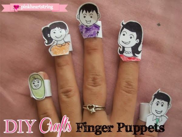 DIY Craft: Finger Family Puppets