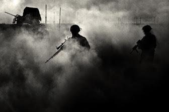Pelear en una guerra