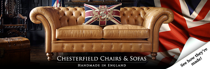 "Divani Chesterfield Originali Inglesi ""BEST SELLER"" COLLINS & COOPER"